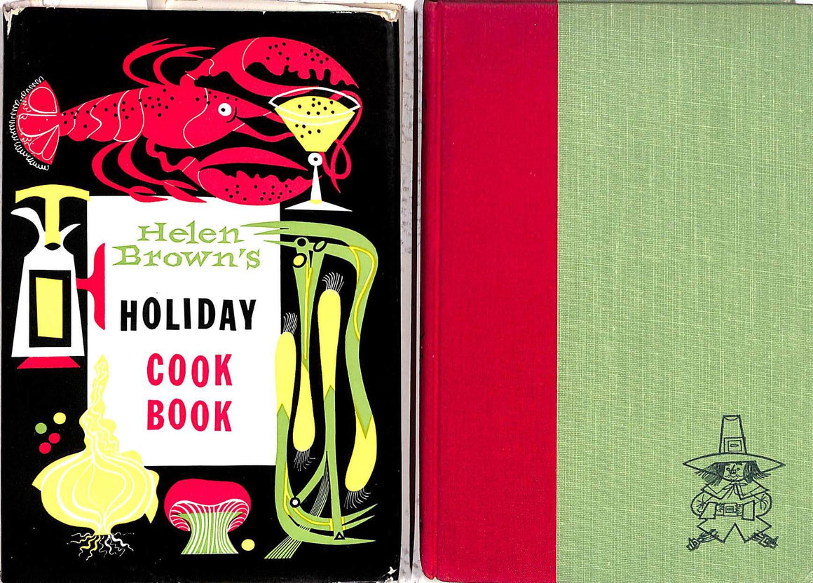 """Holiday Cook Book"" 1952 BROWN, Helen"