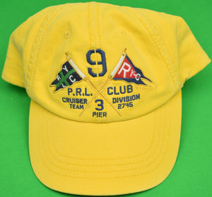 Polo Ralph Lauren Yellow RLYC Yachting Cap