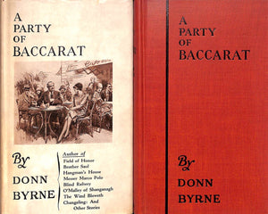 """A Party of Baccarat"" 1930 BYRNE, Donn"