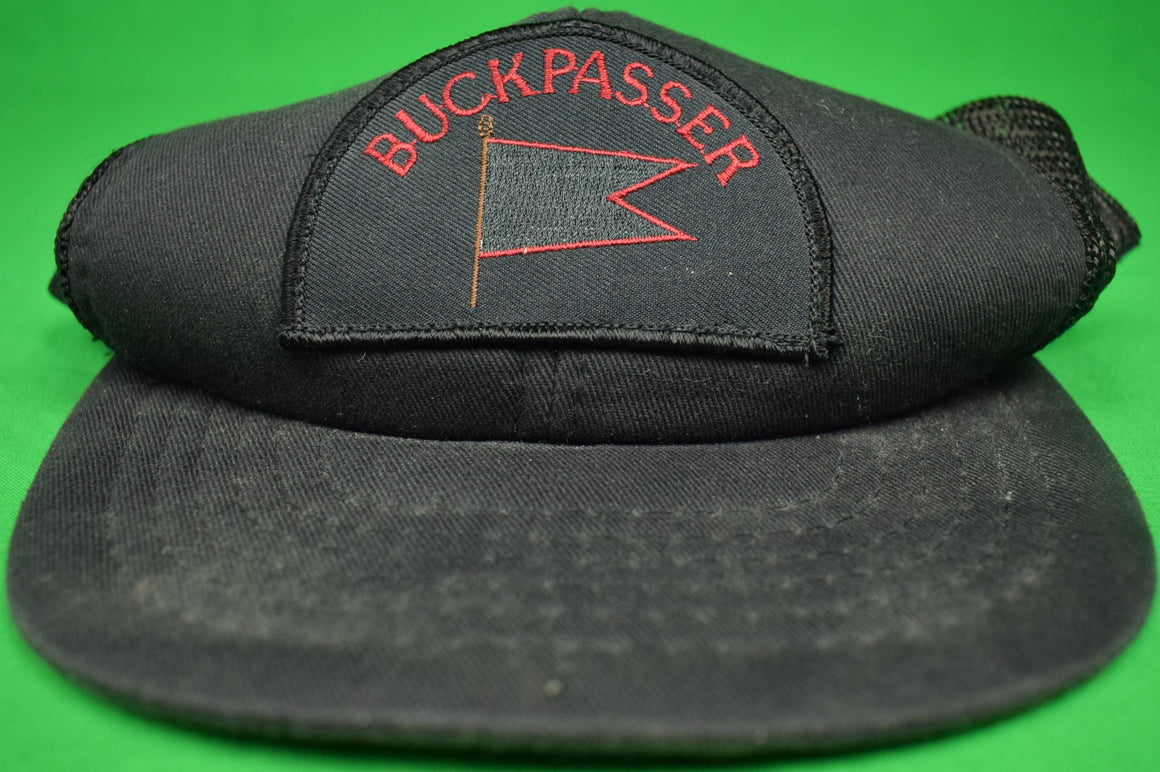 "Deck Crew Cap for Ogden Phipps' Private Yacht ""Buckpasser"""