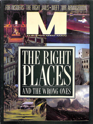 """M The Civilized Man: The Right Places and The Wrong Ones February 1987"""