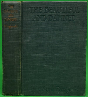 """The Beautiful And Damned"" FITZGERALD, F. Scott"