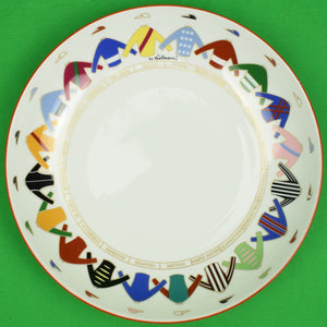 Richard Ginori Italian (20) 'Jockeys' Bowl by Gio Ponti