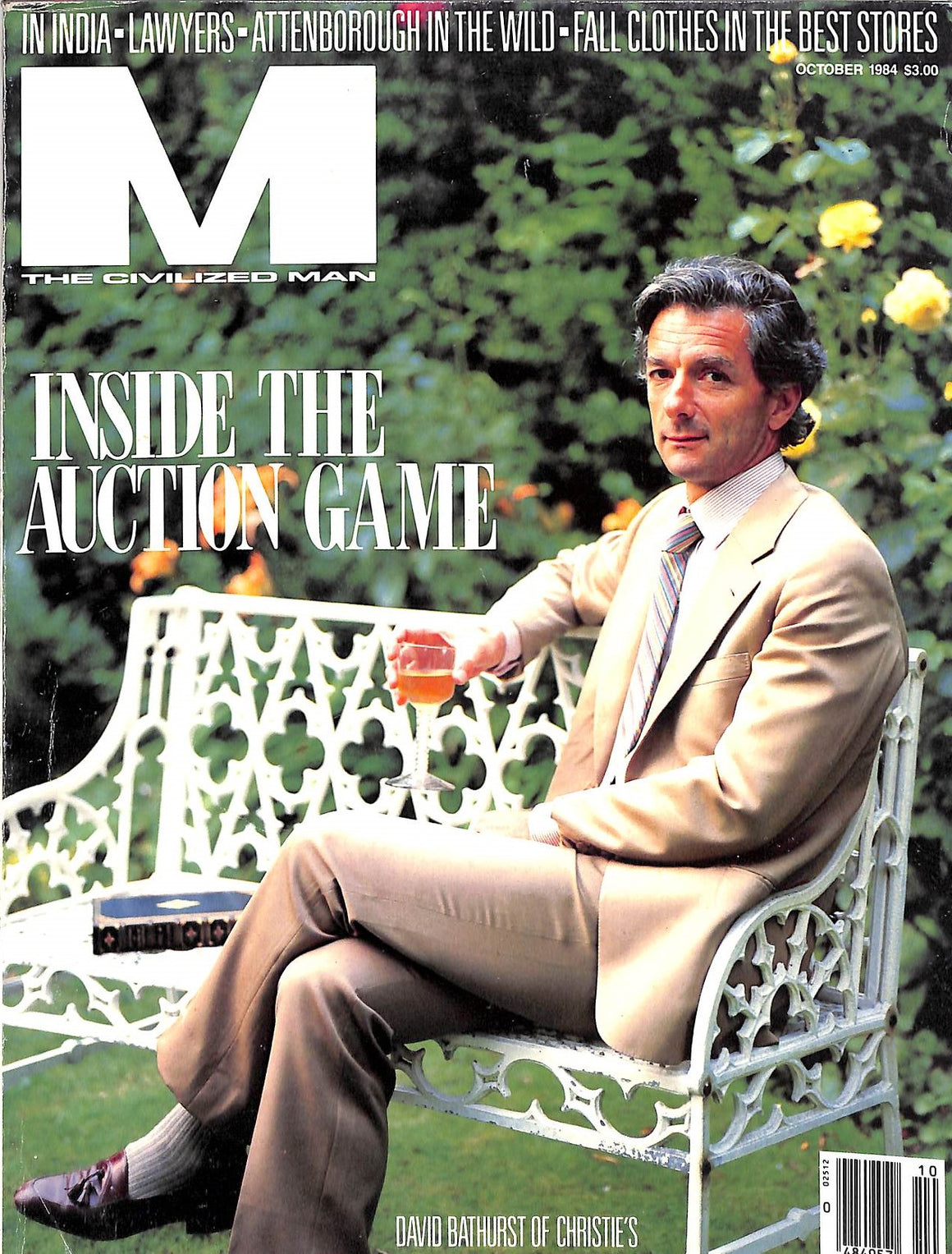 """M The Civilized Man: Inside The Auction Game October 1984"" (SOLD)"