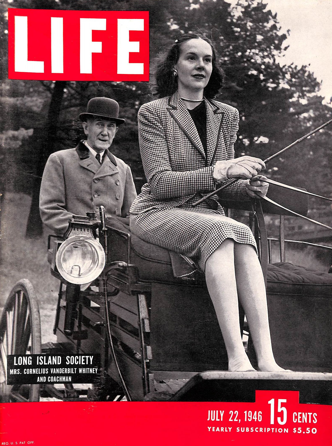 """Life Magazine- July 22, 1946"" (SOLD)"