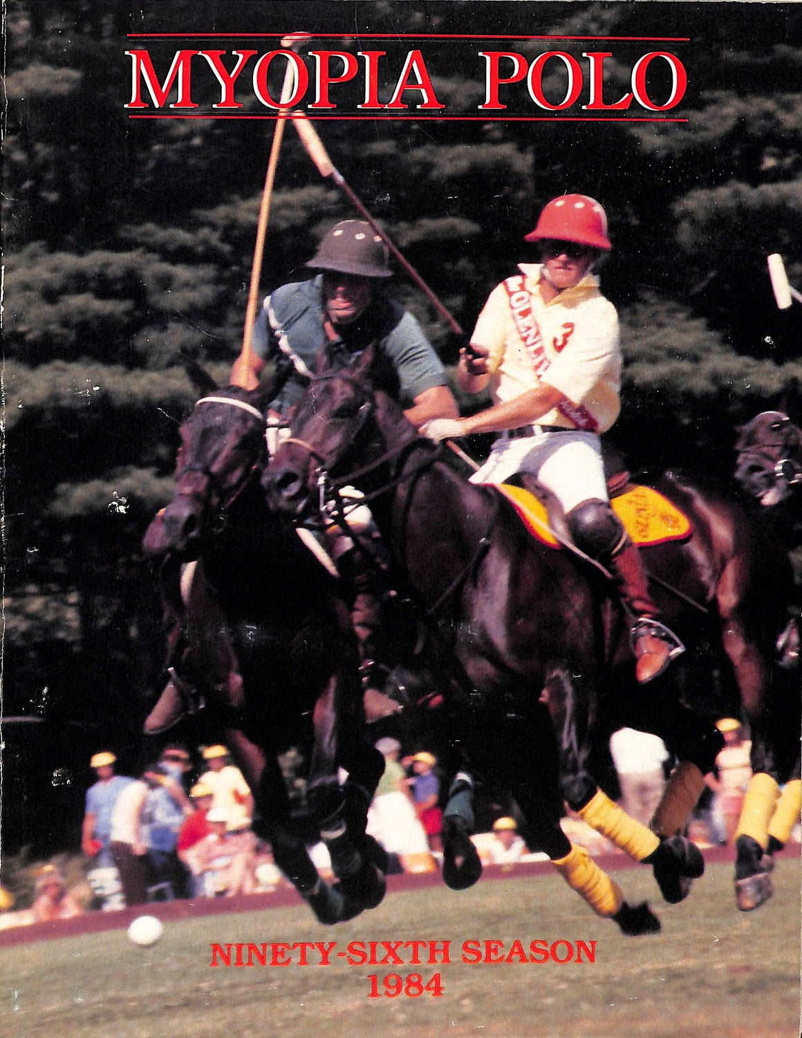 """Myopia Polo 96th Season 1984"""