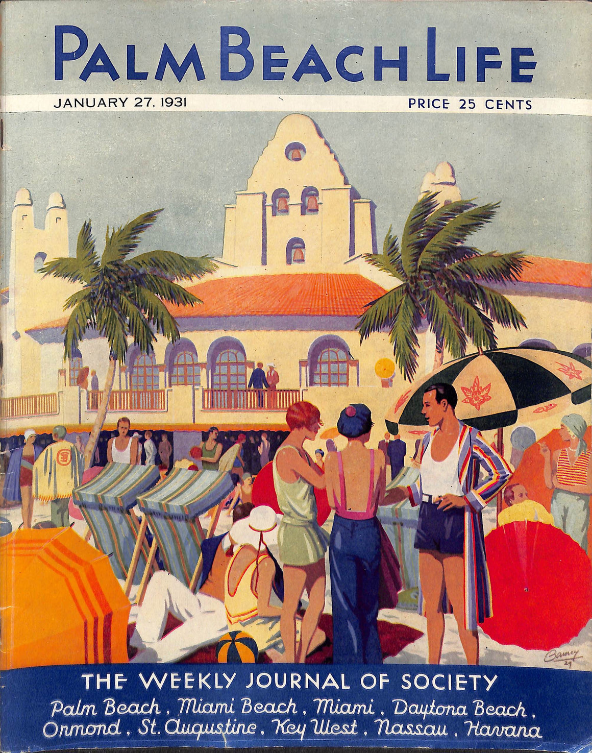 """Palm Beach Life"" January 27, 1931"