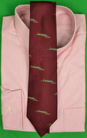 J. Press Burg Irish Silk Rowing Club Tie