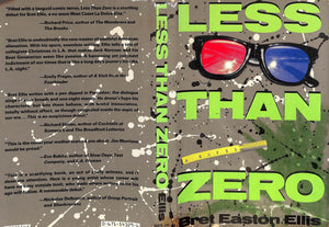 """Less Than Zer0"" ELLIS, Bret Easton"