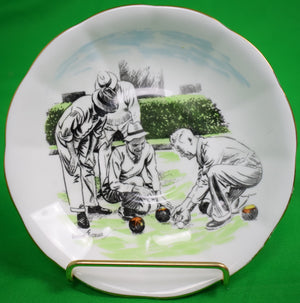 "Royal Albert ""Bowls"" English Bone China Plate by Arthur Ferrier"