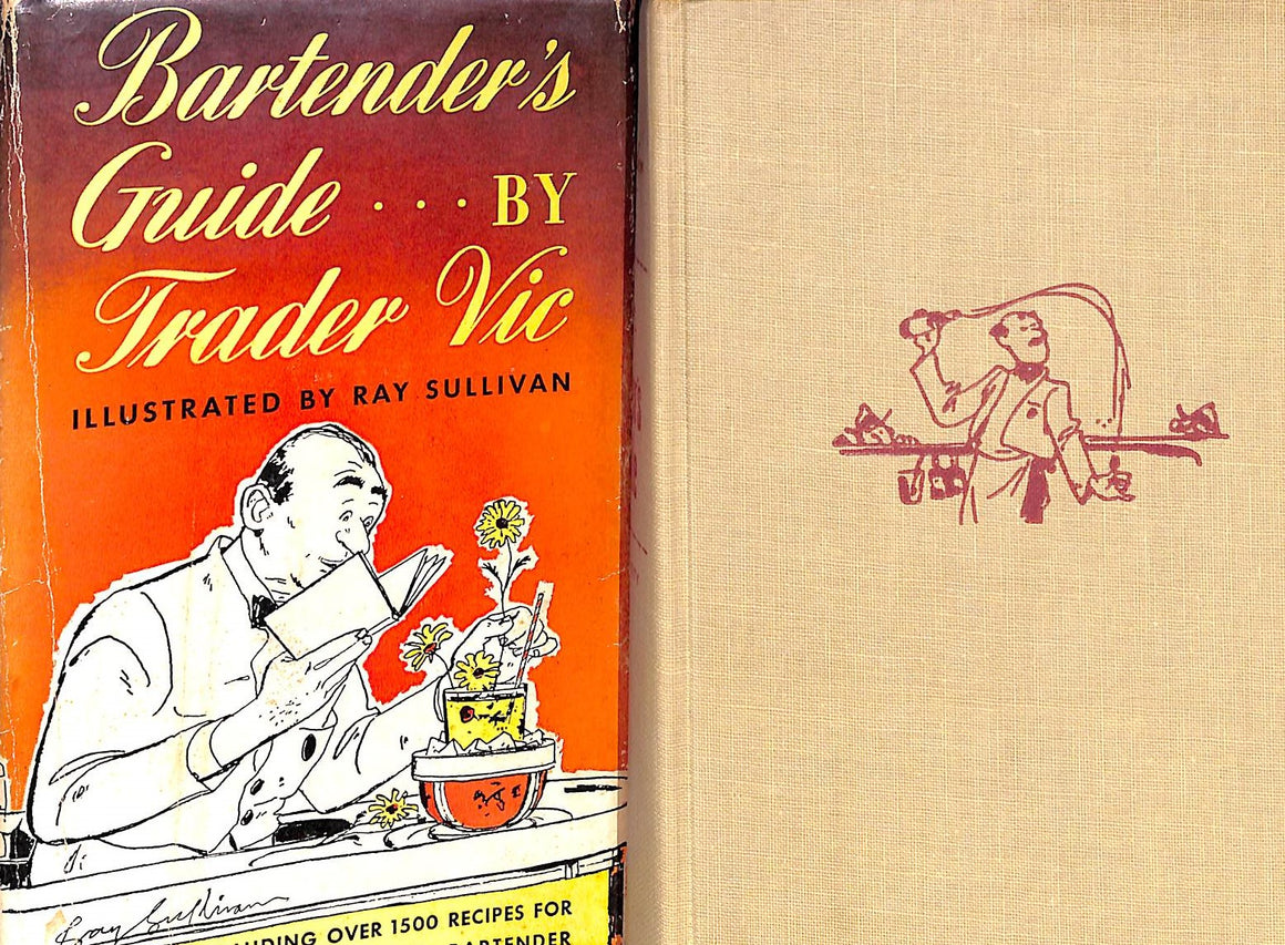 """Bartender's Guide by Trader Vic"" 1948 by Vic, Trader (Sold!)"