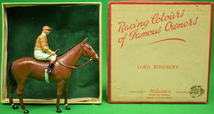 Britains Racing Colours of Famous Owners: Lord Rosebery (SOLD)