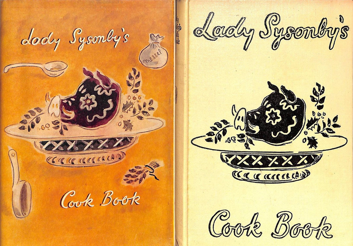 """Lady Sysonby's Cook Book"" SYSONBY, Ria"