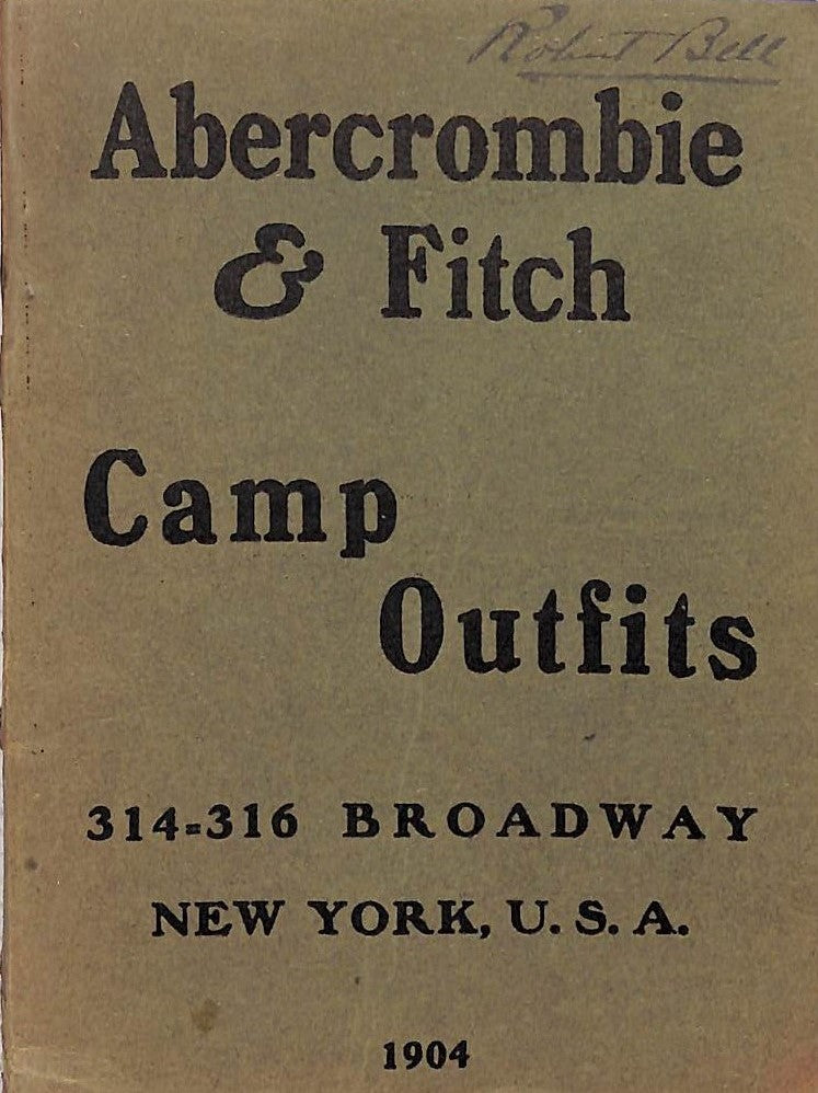 """Abercrombie & Fitch Camp Outfits 1904"""