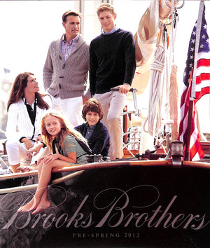 """Brooks Brothers Pre-Spring 2012 Catalog"" (SOLD)"