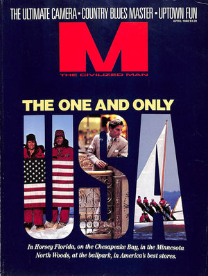 """M The Civilized Man: The One and Only April 1988"""