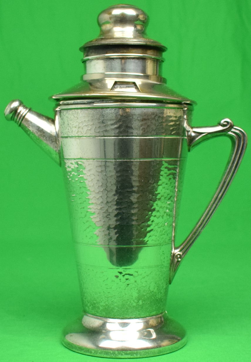 """Silver-Plate c1930s Cocktail Shaker"""