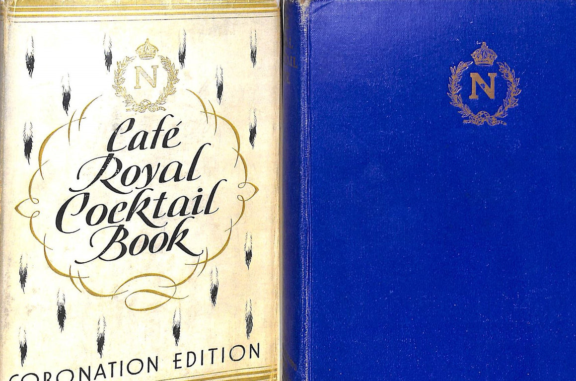 """Cafe Royal Cocktail Book 1937""  W.J.Tarling (Compiled by)/ illustrated by Frederick Carter"