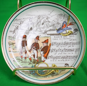 Robin des Bois 3 Huntsmen Plate Made in England for PV