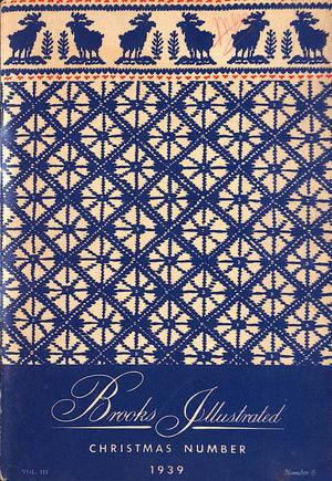 Brooks Brothers Illustrated Christmas Number 1939