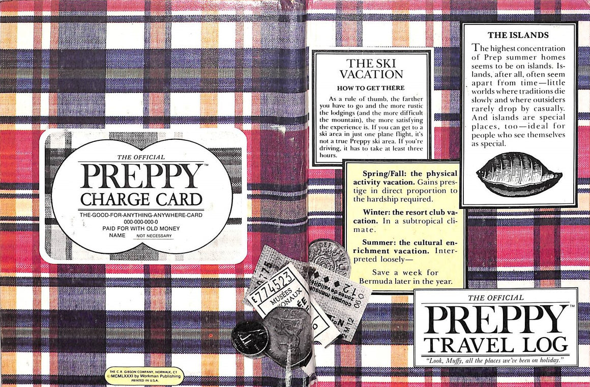 """The Official Preppy Travel Log"""