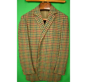 """W. Bill Ltd. Bond Street Houndstooth/ Gun Check Tweed Jacket"" Sz 40R"