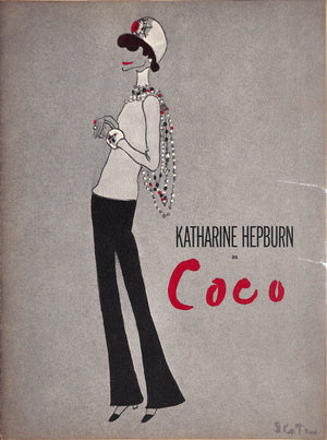 """Katherine Hepburn as Coco- Cast Program"""