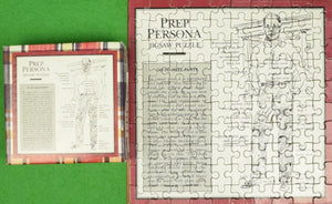 """The Official Preppy Jigsaw Puzzle Go-To-Hell-Pants Prep Persona"" 1981"