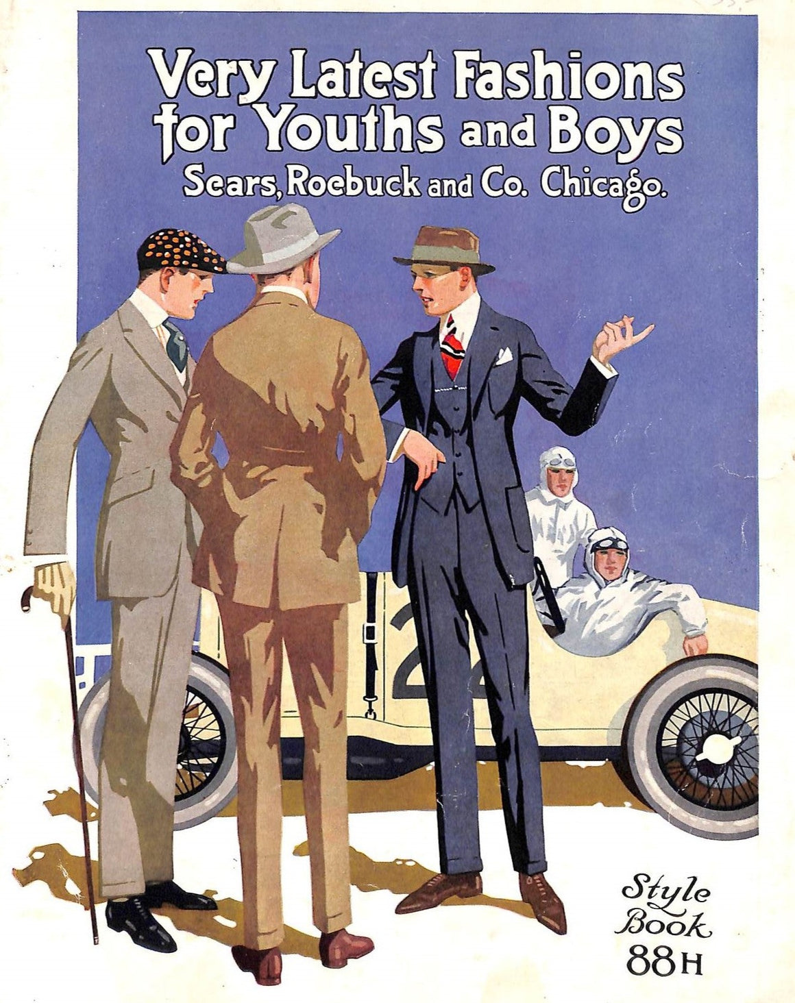 Very Latest Fashions for Youths and Boys: Sears, Roebuck and Co. Chicago. - Style Book 88H