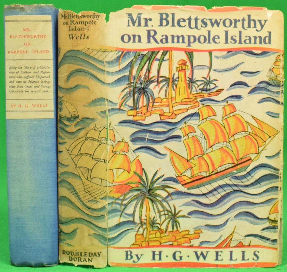"""Mr. Blettsworthy on Rampole Island"" 1928 WELLS, H.G."