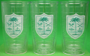 Set of 3 Lyford Cay Club Tervis Tumblers