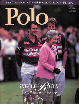 """Polo Magazine October 1992"""