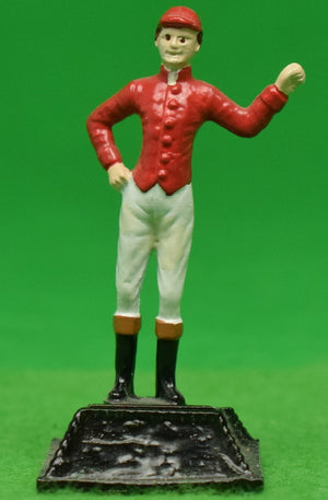 "The ""21"" Club New York Red Jockey Place Card Holder"