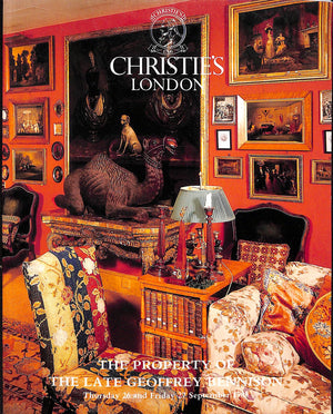 """The Property of the Late Geoffrey Bennison"" 1985 Christie's London"