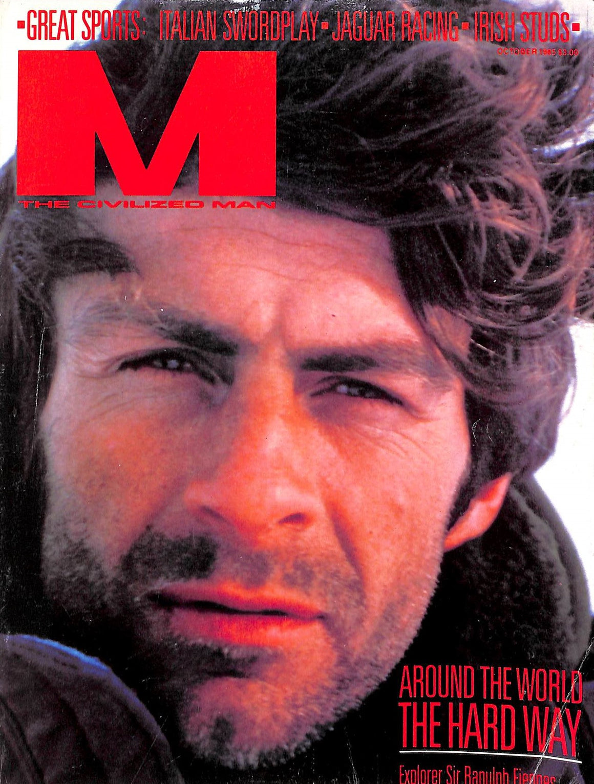 """M The Civilized Man: Around The World The Hard Way October 1985"""