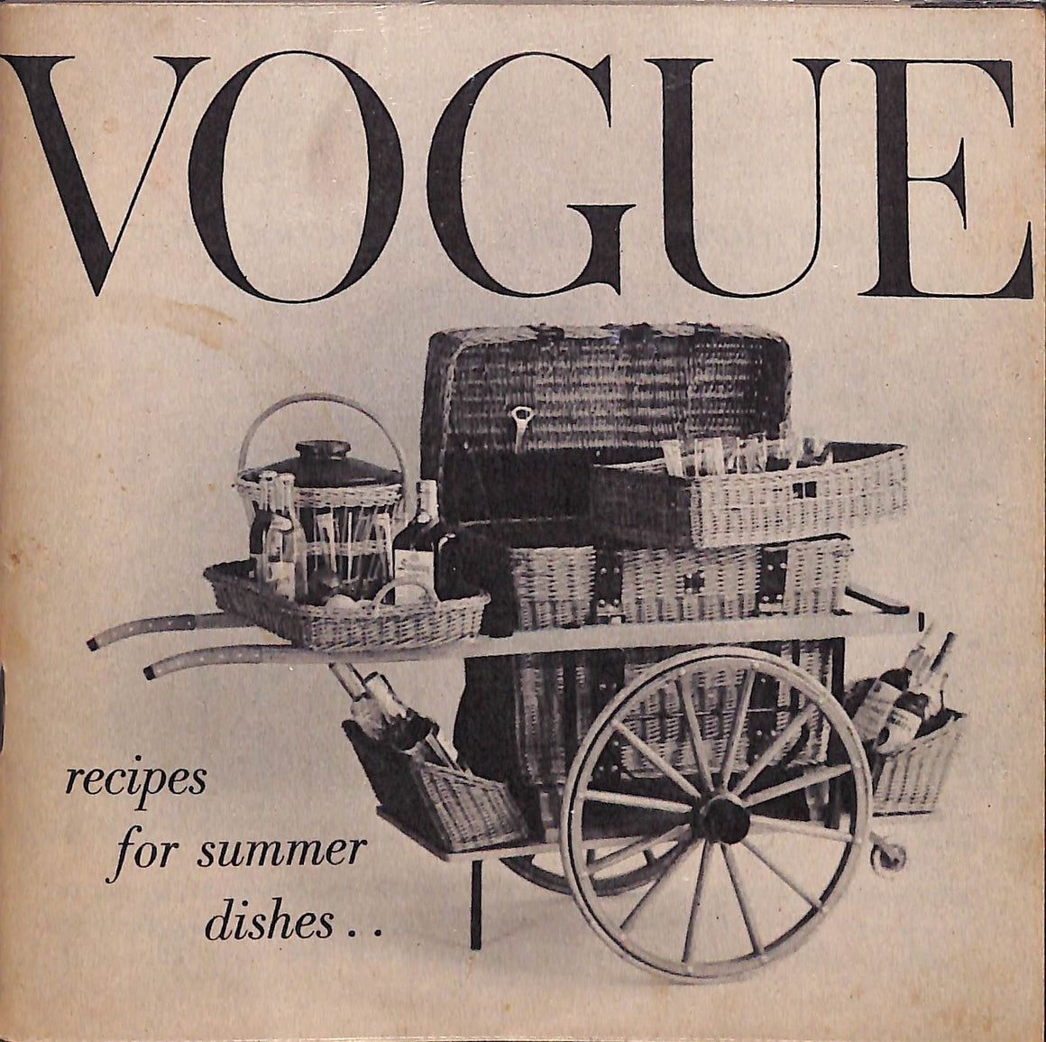 """Vogue: Recipes for Summer Dishes"""