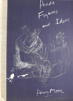 """Heads, Figures, and Ideas"" 1958 MOORE, Henry"