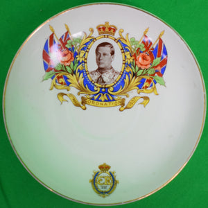 Leighton Pottery 1937 King George VI Coronation Plate