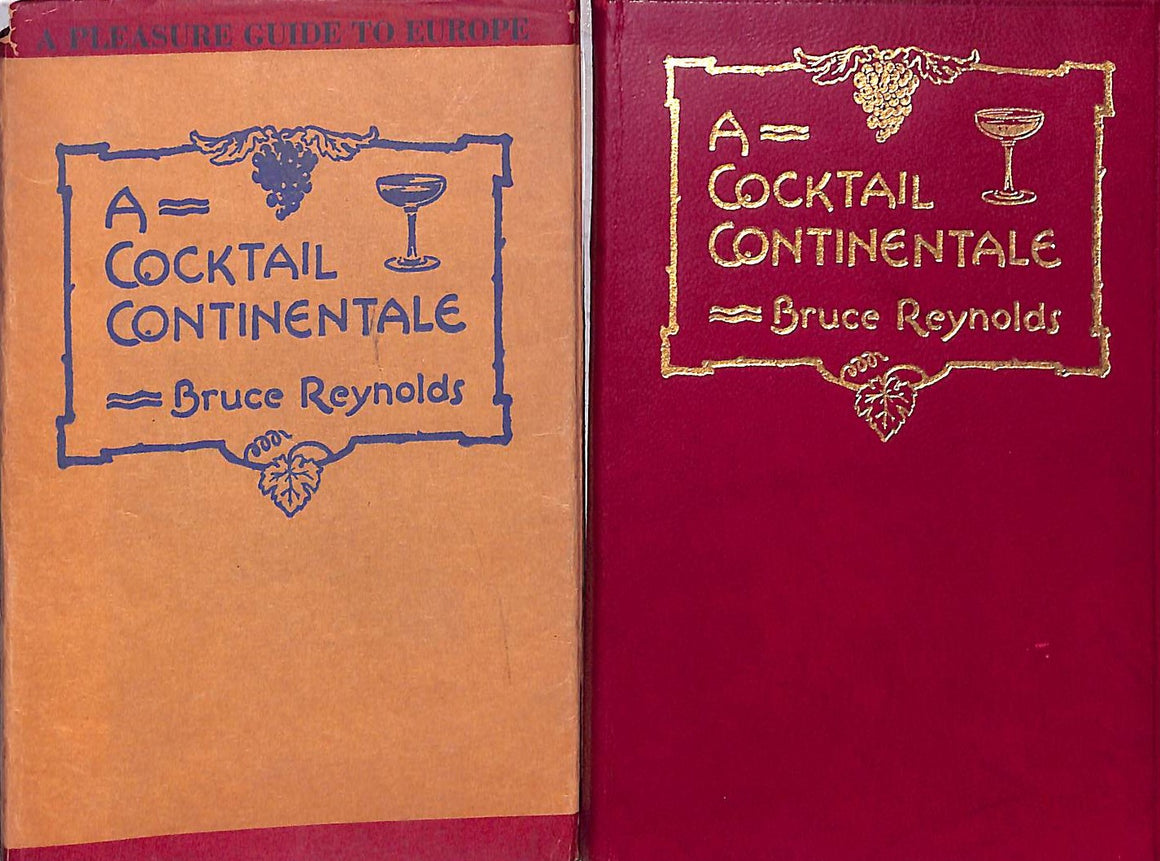"""A Cocktail Continentale"" 1926 Reynolds, Bruce"