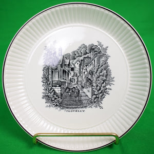 Rex Whistler Design 'Clovelly' Wedgwood China Plate