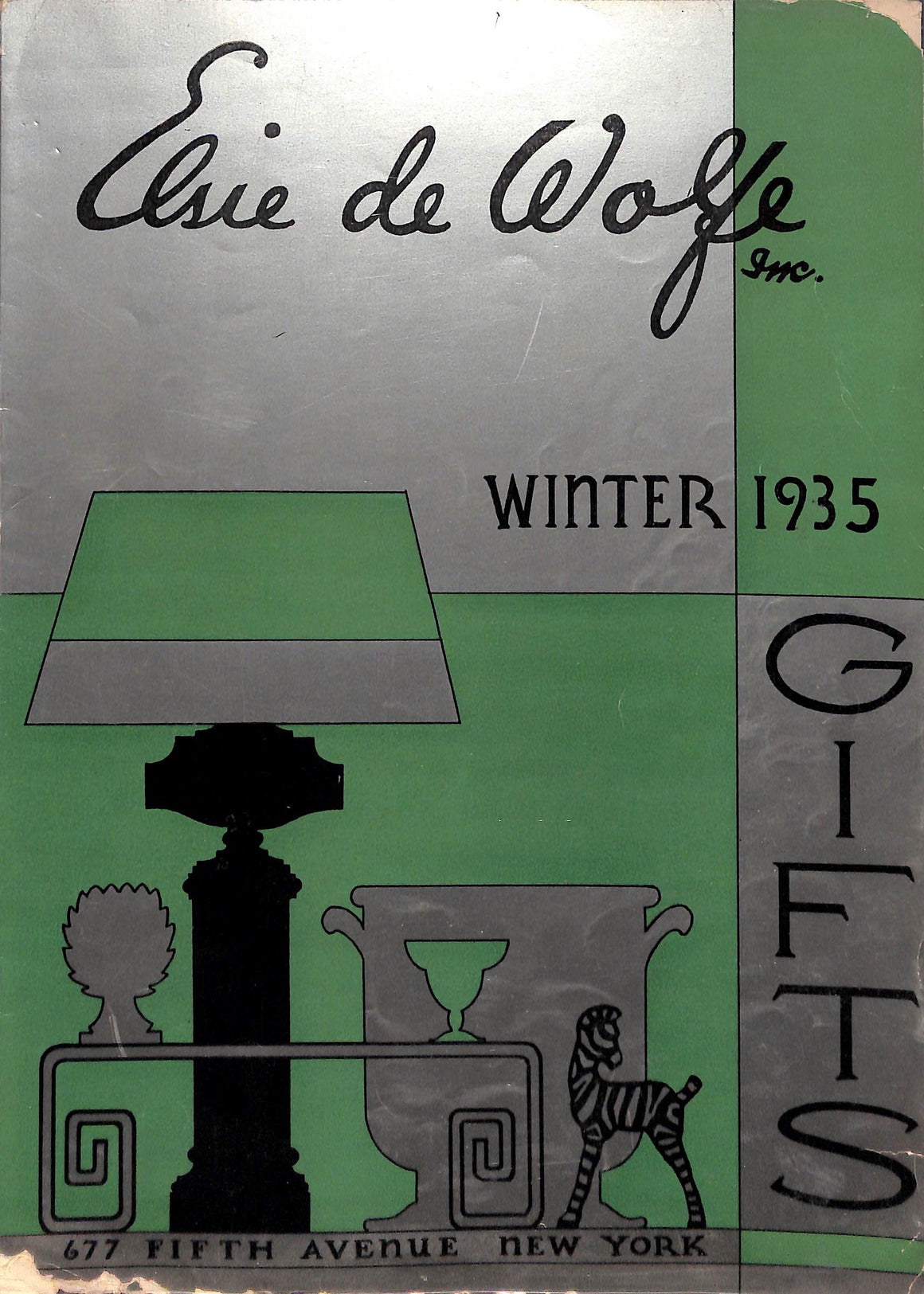 Elsie de Wolfe's Winter 35 Journal