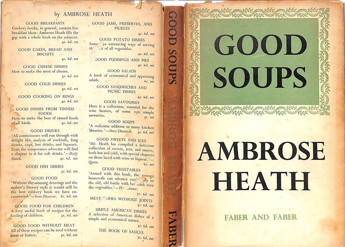"""Good Soups"" Heath, Ambrose"