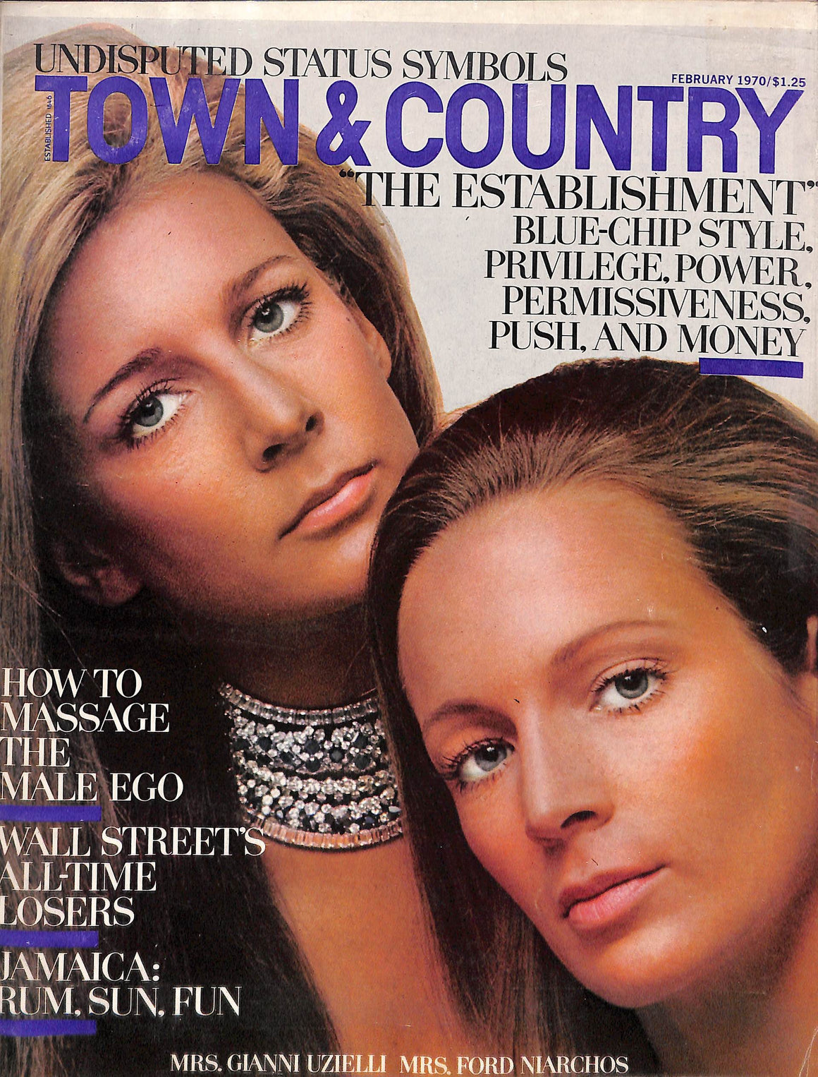 """Town & Country February 1970"""
