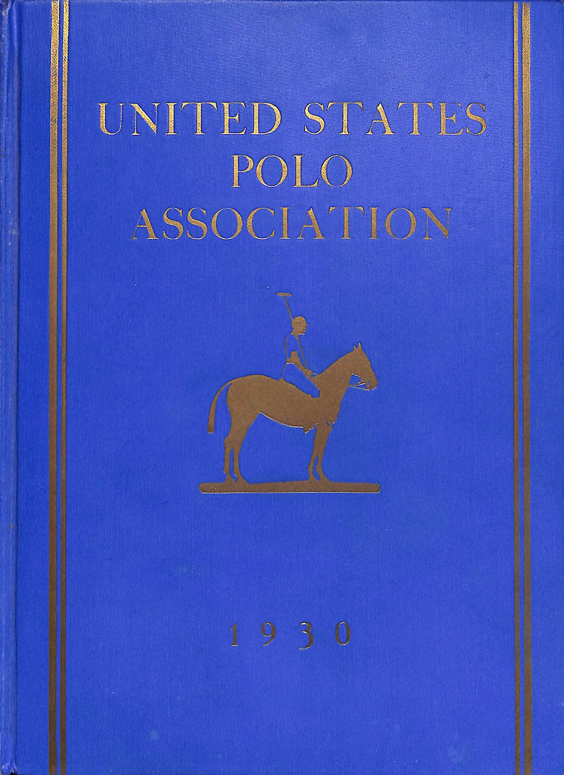 """United States Polo Association 1930 Year Book"""