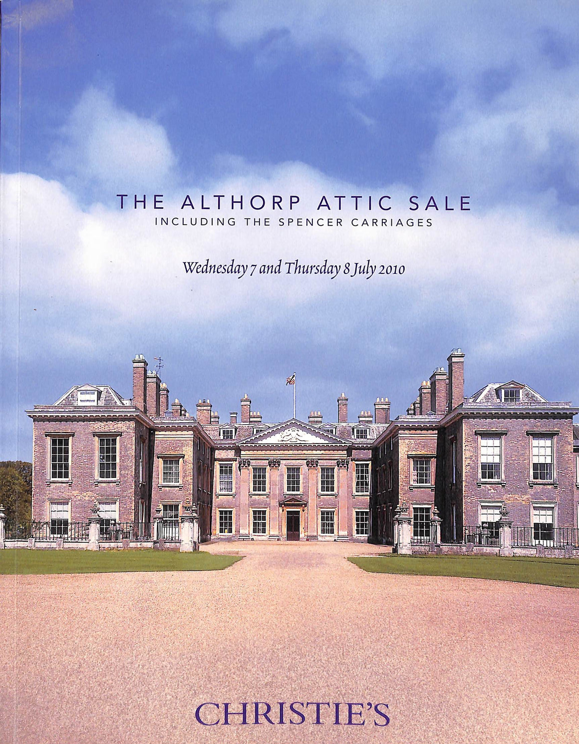 Christie's: The Althorp Attic Sale Including the Spencer Carriages - 7-8 July 2010
