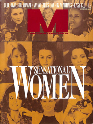 """M The Civilized Man: Sensational Women"" March 1986"