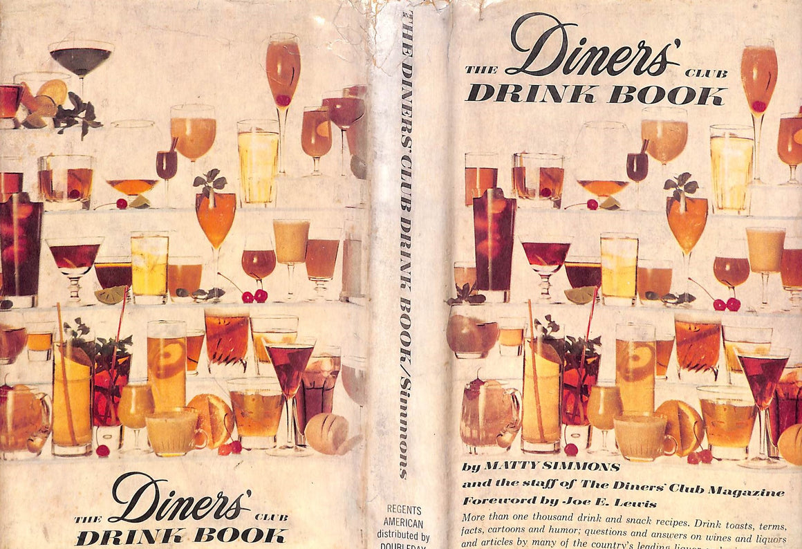 """The Diner's Club Drink Book"" Simmons, Matty"