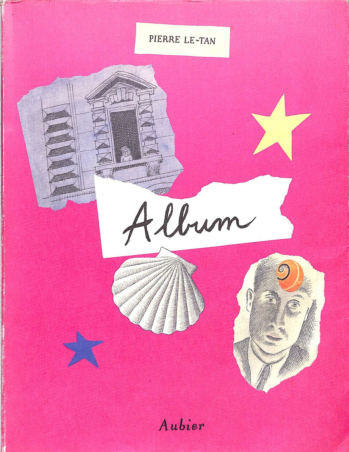 """Album"" 1990 Pierre Le-Tan"