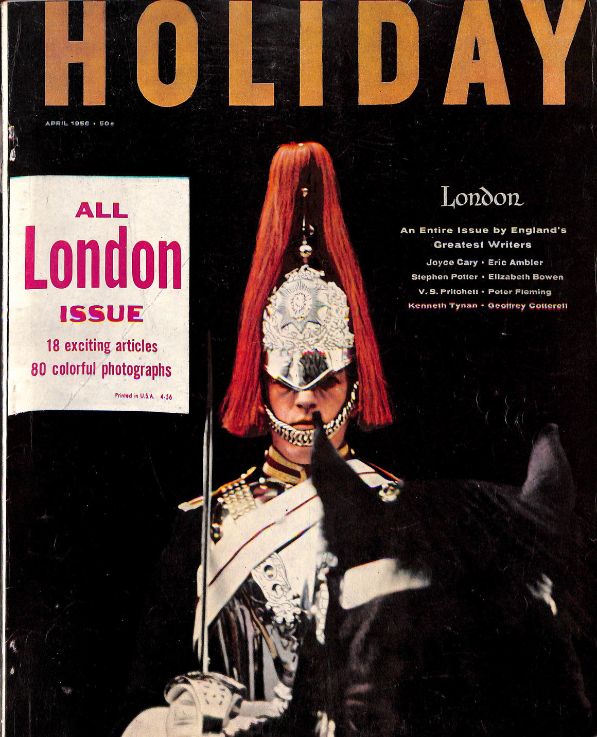 Holiday: April 1956
