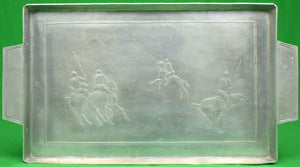 """Wendell August Polo Player Aluminum Tray"""